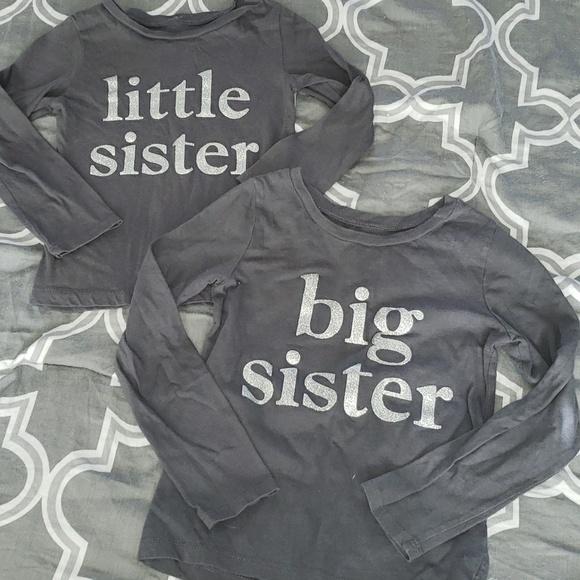 5d6ef6776 Carter's Matching Sets | Carters Big Sister Little Sister Shirt Set ...